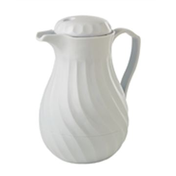 Picture of Kinox Insulated Coffee Jug White 1.1L