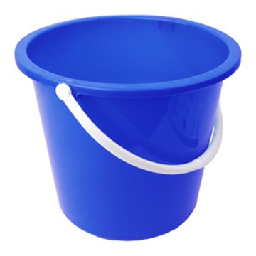 Picture of 10L Bucket Plastic Blue 102834B