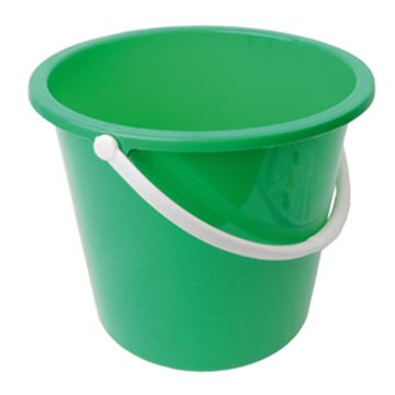 Picture of 10L Bucket Plastic Green