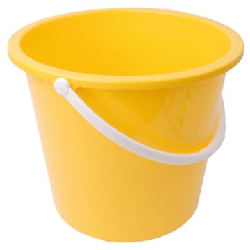 Picture of 10L Bucket Plastic Yellow