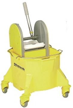 Picture of 101255 Mop Bucket & Press 23l/12-20 Yellow