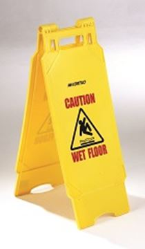 Picture of Caution Wet Floor / Cleaning In Progress Sign