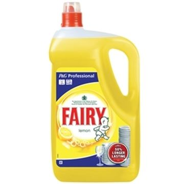 Picture of Fairy Washing Up Liquid Lemon 5L