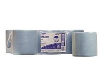 Picture of 7267 L10 Wypall C/F Roll Blue 6x400Sht
