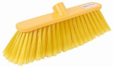 "Picture of 12"" Deluxe Broom Head Soft Yellow"