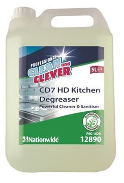 Picture of Clean and Clever CD7 Heavy Duty Kitchen Degreaser 5L