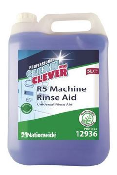 Picture of Clean and Clever R5 Machine Rinse Aid 5L 12936