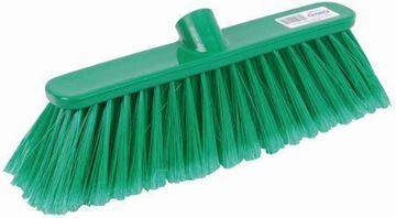 "Picture of 12"" Deluxe Broom Head Soft Green"