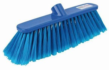 "Picture of 12"" Deluxe Broom Head Soft Blue"
