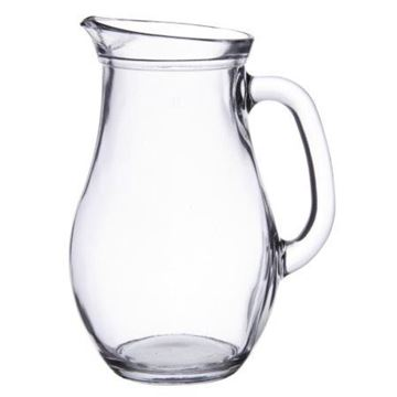 Picture of E069 1L Bistro Glass Jug x6     P80102