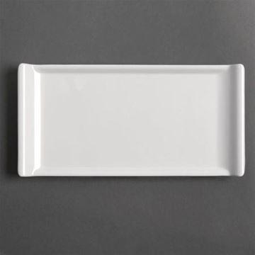 Picture of GM282 Kristallon Melamine Platter White