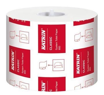 Picture of Katrin Classic System Toilet 800 White 2Ply 36 Rolls