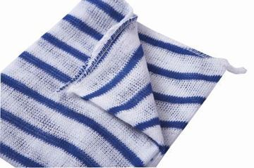 "Picture of 100754 N/W Dishcloth 12x16"" Blue x10"