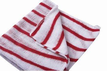 "Picture of 100755 N/W Dishcloth 12x16"" Red x10"