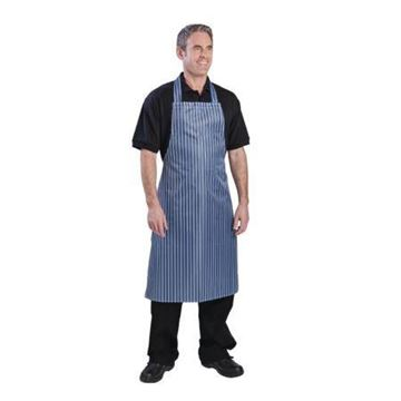 Picture of Whites Waterproof Bib Apron Blue and White