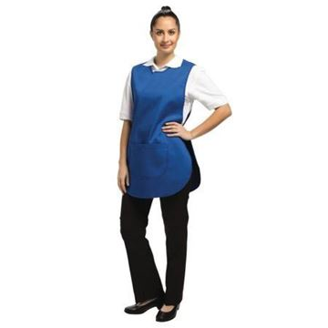 Picture of B043-2 Tabard W/ Pocket Royal Blue Large