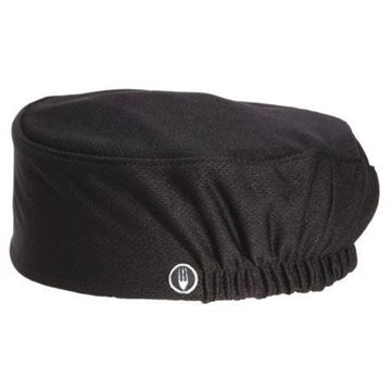Picture of Chef Works Total Vent Beanie Black