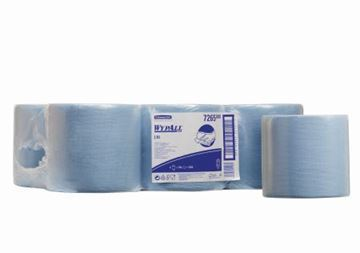 Picture of 7265 Wypall L10 Roll Blue 1Ply 6x700Sh
