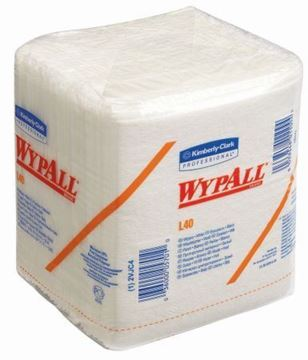 Picture of 7471 Wypall L40 white Quarter Fold 18x56