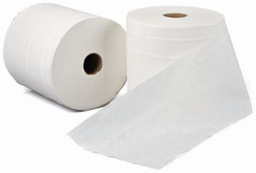 Picture of RTW200 White Embossed Roll Towel 1Ply x6