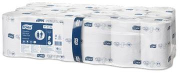 Picture of Tork Coreless Mid-Size Toilet Rolls White 2Ply 36 Rolls