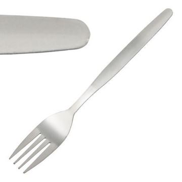 Picture of C117 Plain Design S/S Table Fork x12 F00103