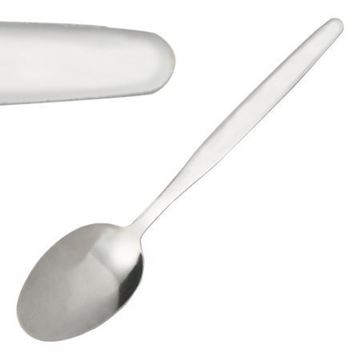 Picture of C120 Plain Design S/S Dessert Spoon x12 F00108