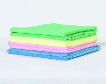 Picture of Clean and Clever Microfibre Cloth Green x5 10602