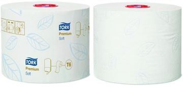 Picture of Tork White Compact Toilet Rolls 2Ply 27 Rolls