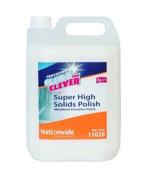Picture of Clean and Clever Super High Solids Floor Polish 5Ltr 11020