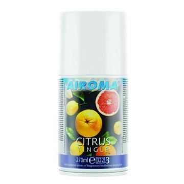 Picture of Airoma Citrus Tingle Aerosol 270ml x12