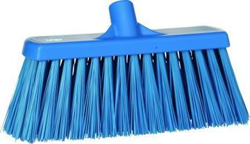 "Picture of 29153 12"" Stiff Broom Head Blue"
