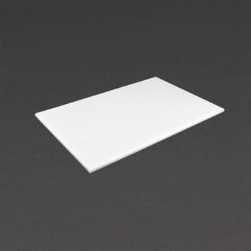 Picture of Hygiplas High Density White Chopping Board Standard