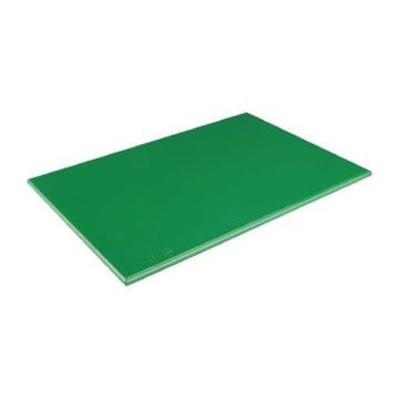 "Picture of Chopping Board 17.75x12x.5"" Green J012"