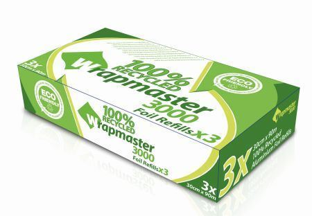 Picture of Wrapmaster Aluminium Foil 30cm Roll x3