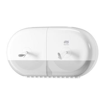 Picture of 682000 Tork SmartOne Twin Mini Toilet Roll Dispenser