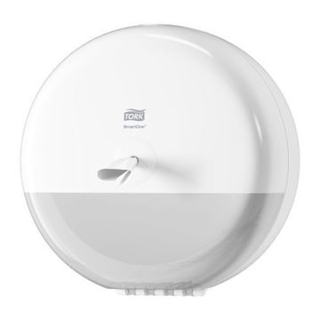 Picture of 680000 Tork SmartOne Toilet Roll Dispenser White