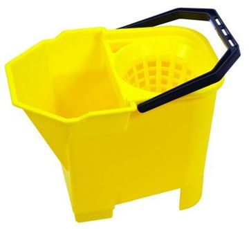 Picture of 8L Bulldog Mop Bucket Yellow 950898