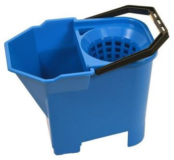 Picture of 8L Bulldog Mop Bucket Blue 950896