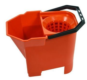 Picture of 8L Bulldog Mop Bucket Red 950899 41930