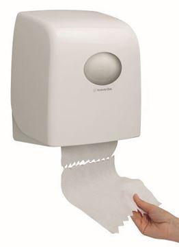 Picture of 6953 Aquarius Slimroll Hand Towel Dispenser White