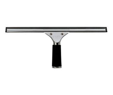 """Picture of 18"""" Stainless Steel Channel & Rubber"""