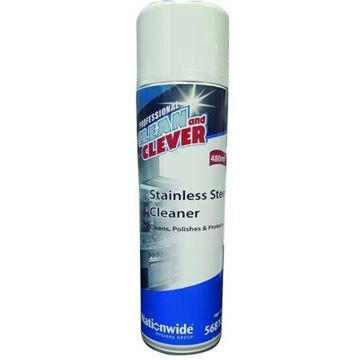 Picture of Clean and Clever Stainless Steel Cleaner 480ml