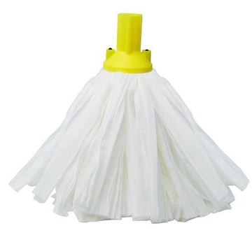 Picture of Exel Big White Socket Mop 120g Yellow
