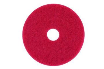 "Picture of 13"" Red Floor Pad"