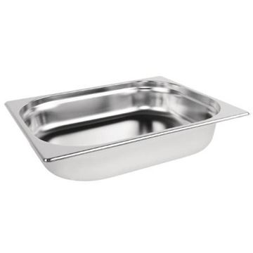 Picture of Vogue Stainless Steel 1/2 Gastronorm Pan 65mm