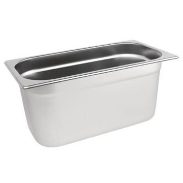 Picture of Vogue Stainless Steel 1/3 Gastronorm Pan 150mm