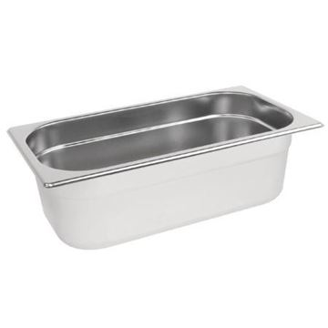 Picture of Vogue Stainless Steel 1/3 Gastronorm Pan 100mm