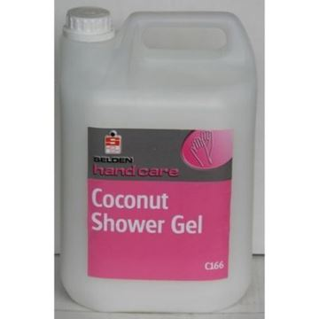 Picture of C166 Coconut Shower Gel 5L