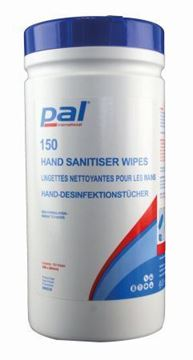 Picture of W68230 Hand Santiser Wipes x150Wipes
